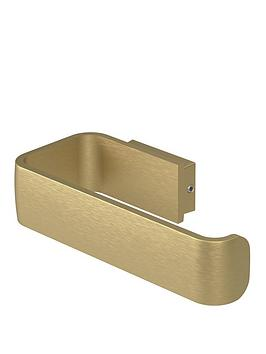 aqualux-haceka-aline-toilet-roll-holder-ndash-gold
