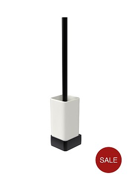 aqualux-haceka-aline-ceramic-toilet-brush-holder-ndash-black