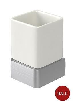 aqualux-haceka-aline-ceramic-tumbler-ndash-brushed
