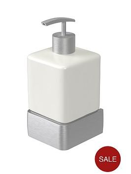 aqualux-haceka-aline-ceramic-soap-dispenser-ndash-brushed