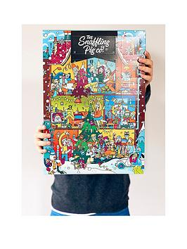 the-snaffling-pig-co-merry-pigginnbspchristmas-pork-crackling-advent-calendar