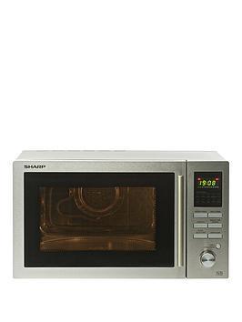 sharp-r82stma-25-litrenbsp900-wattnbspcombi-microwave-stainless-steel