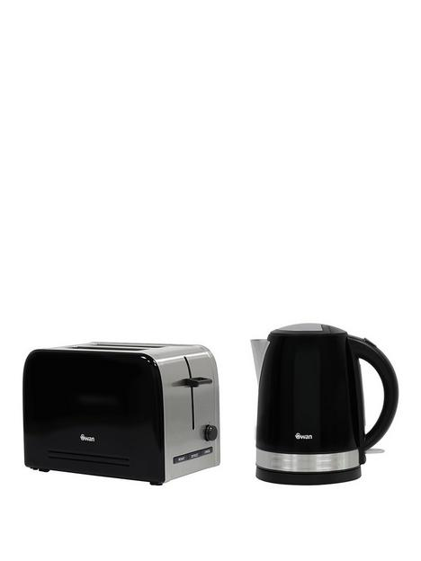swan-stainless-steel-kettle-and-2-slice-toaster-twin-pack-black