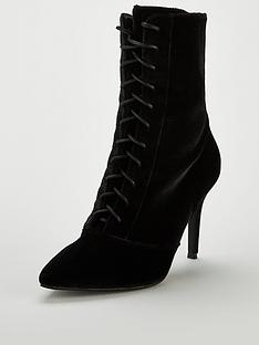 v-by-very-wide-fitnbspfifi-point-high-heel-lace-up-boot-blacknbsp