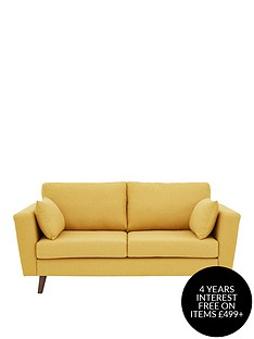 ideal-home-porter-fabric-3-seater-sofa-mustard