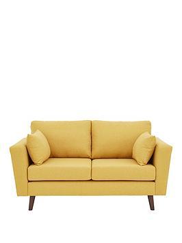 ideal-home-porter-fabric-2-seater-sofa-mustard