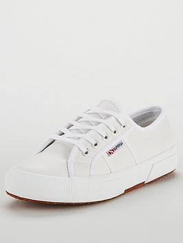 Superga Superga  2750 Leather Plimsoll Picture