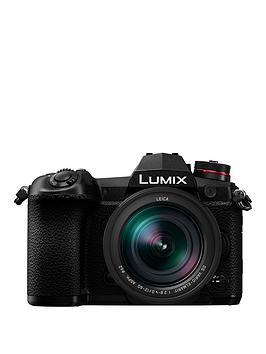 Panasonic Lumix Dc-G9Meb-K Compact System (Mirrorless) Camera With 12-60Mm Lumix Lens - Black