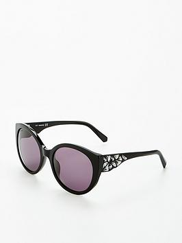 swarovski-gem-arm-sunglasses-black