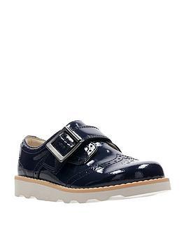 clarks-crown-pride-infant-shoe-navy-patent