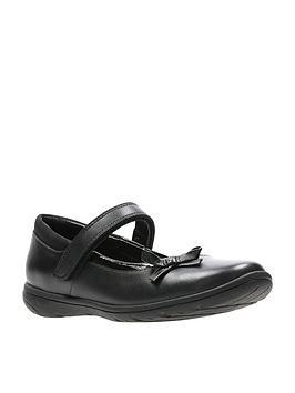 clarks-venture-star-junior-shoes-black