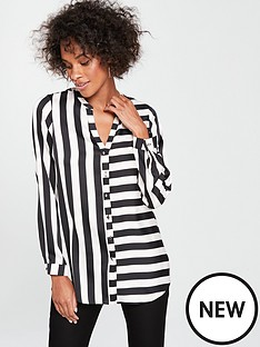 wallis-humbug-stripe-shirt-blackwhite