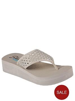 skechers-vinyasa-flow-flip-flops-taupe