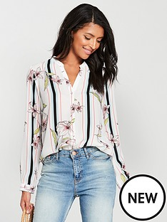 wallis-stripe-floral-shirt-ivory