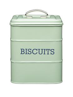 kitchencraft-biscuit-storage-tin-ndash-english-sage-green
