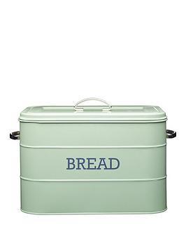 kitchencraft-antique-bread-bin-ndash-english-sage-green