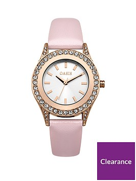oasis-silver-dial-rose-gold-case-punk-strap-ladies-watch