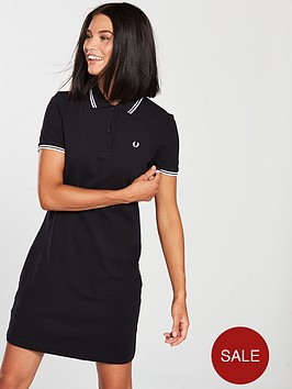 fred-perry-twin-tipped-dress-black