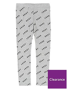 dkny-girls-all-over-logo-legging