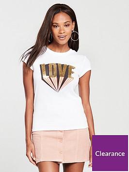 river-island-love-print-slim-t-shirt