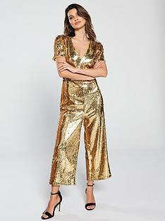 v-by-very-sequin-culotte-jumpsuit-goldnbsp
