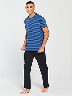 v-by-very-blue-striped-loungewear-tee-amp-pique-joggers-2-pack-blue-navy