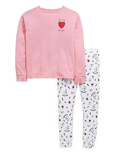 v-by-very-girls-llama-christmas-pj-set