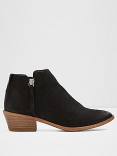 aldo-aldo-veradia-ladies-unlined-western-ankle-boot-with-side-zip