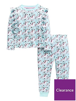 mini-v-by-very-girls-glitter-unicorn-frill-pyjama