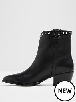 aldo-aldo-agrirama-ladies-western-ankle-boot-with-stud-detail