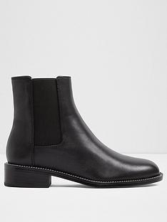 aldo-aldo-oniravia-ladies-chelsea-flat-ankle-bootie-with-chain-detail