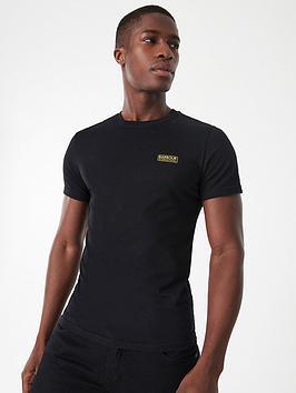 barbour-international-small-logo-slim-fit-t-shirt-black