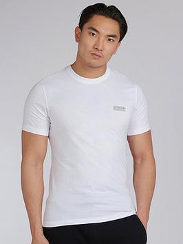 Barbour International Barbour International Small Logo T-Shirt - White Picture