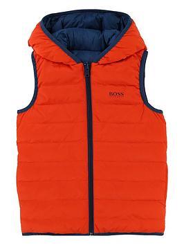 boss-boys-reversible-padded-giletnbsp--orangeblue