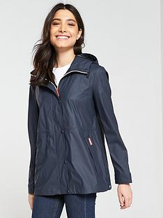 hunter-original-lightweight-rubberised-jacket-navy