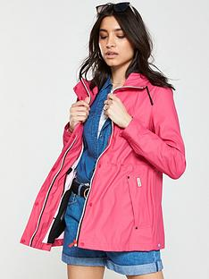 hunter-lightweight-rubberised-jacket-bright-pink