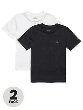 Calvin Klein Calvin Klein Boys 2 Pack Short Sleeve T-Shirts - Black/White Picture