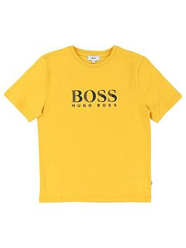 boss-boys-short-sleeve-t-shirt-yellow