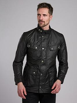 Barbour International Barbour International Duke Wax Jacket - Black Picture