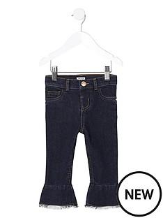 river-island-mini-girls-dark-blue-mid-rise-flare-jeans