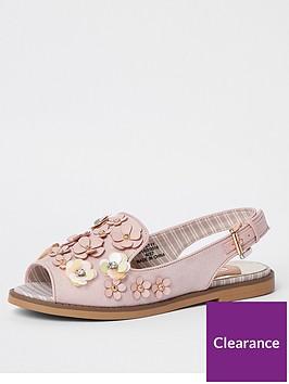 river-island-3d-flower-slingback-sandals