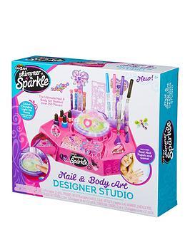 Shimmer & Sparkle Shimmer & Sparkle Shimmer And Sparkle Nail Design Studio Picture