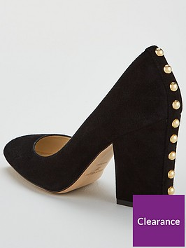 karen-millen-stud-detail-block-heel-court-shoe-black