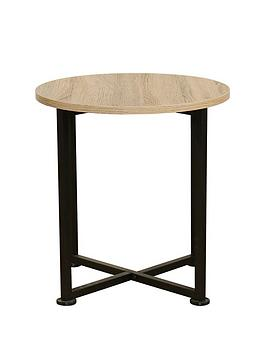 telfordnbspindustrialnbspround-lamp-table