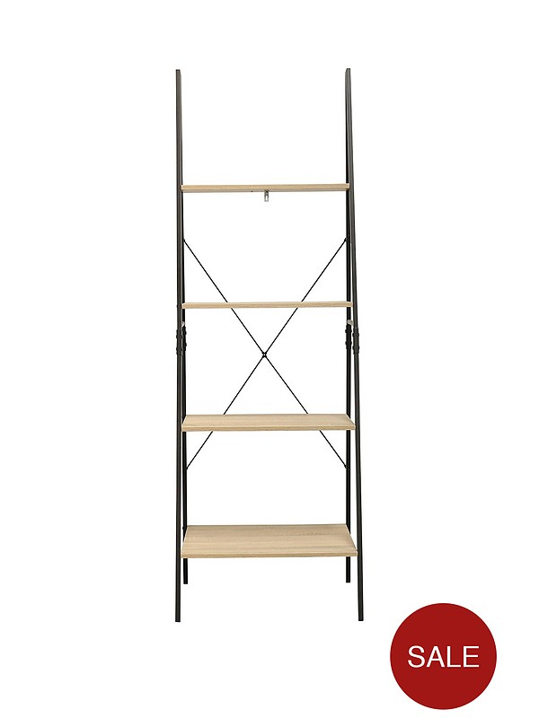 the latest b937c 788f6 Telford Industrial Ladder Bookcase