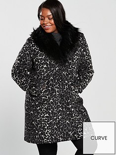 v-by-very-curve-faux-fur-collar-coat-animal-printnbsp