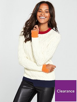 armani-exchange-knitted-jumper
