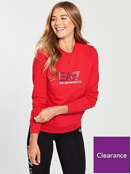 emporio-armani-ea7-train-logo-crew-neck-sweat-red