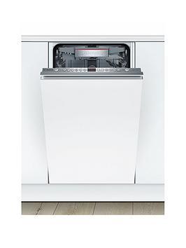 Bosch   Serie 6 Spv66Tx00G 10-Place Setting Integrated Slimline Dishwasher - White