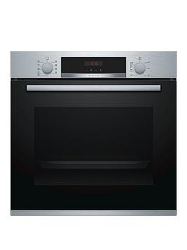 Bosch   Serie 4 Hbs573Bs0B Built-In Single Oven With Autopilot - Stainless Steel
